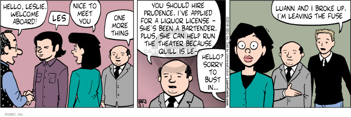Comic Strip Greg Evans  Luann 2016-03-01 prudence