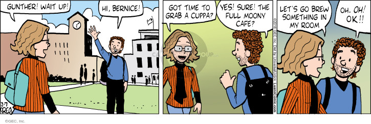 Comic Strip Greg Evans  Luann 2016-03-07 coffee