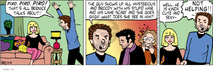 Comic Strip Greg Evans  Luann 2016-03-14 attraction