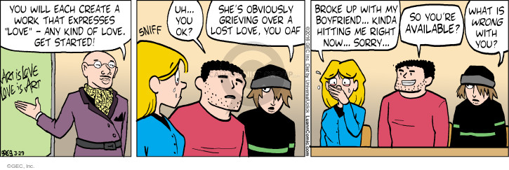 Comic Strip Greg Evans  Luann 2016-03-29 hit