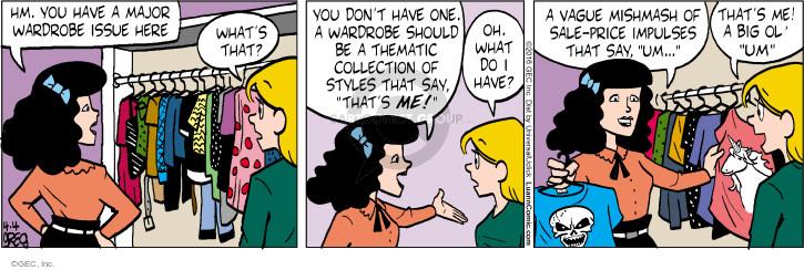 Comic Strip Greg Evans  Luann 2016-04-04 price