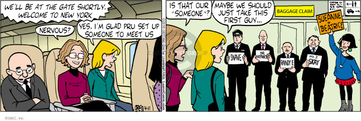 Comic Strip Greg Evans  Luann 2016-04-11 baggage