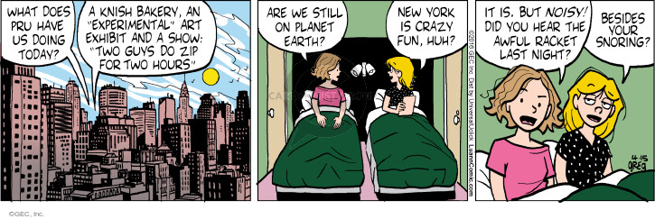 Comic Strip Greg Evans  Luann 2016-04-15 crazy