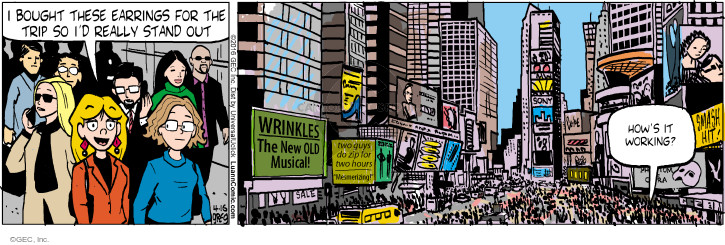 Comic Strip Greg Evans  Luann 2016-04-16 wrinkle