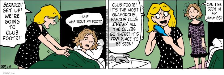 Comic Strip Greg Evans  Luann 2016-04-19 sleep