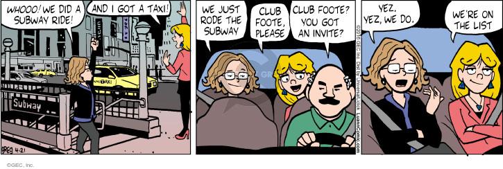 Comic Strip Greg Evans  Luann 2016-04-21 invitation