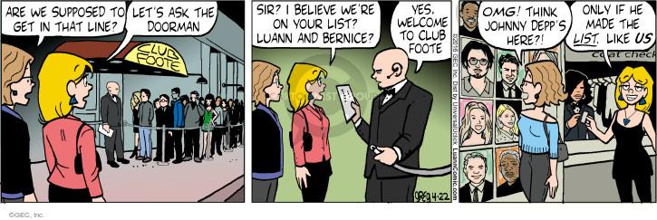 Comic Strip Greg Evans  Luann 2016-04-22 invitation