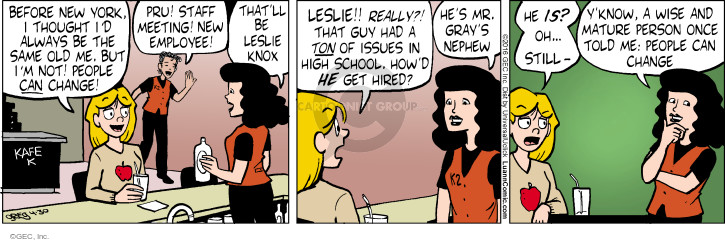 Comic Strip Greg Evans  Luann 2016-04-30 personality