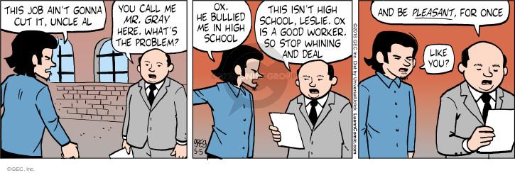 Cartoonist Greg Evans  Luann 2016-05-05 pleasant