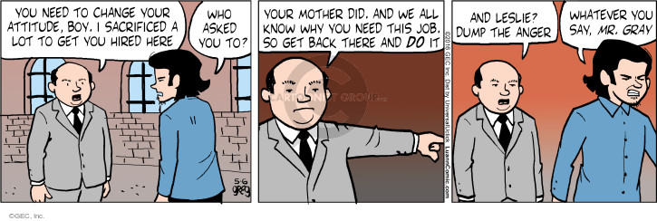 Comic Strip Greg Evans  Luann 2016-05-06 changing