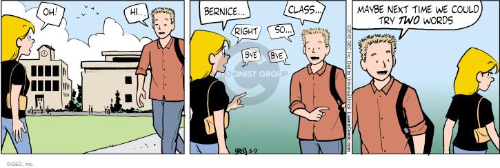 Cartoonist Greg Evans  Luann 2016-05-09 relationship