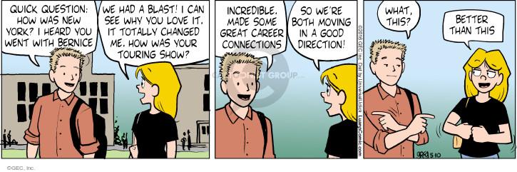 Cartoonist Greg Evans  Luann 2016-05-10 date