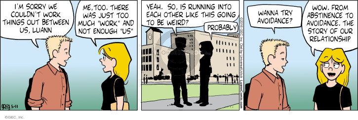 Comic Strip Greg Evans  Luann 2016-05-11 weird