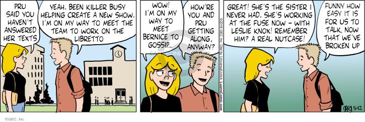 Comic Strip Greg Evans  Luann 2016-05-12 ex-boyfriend