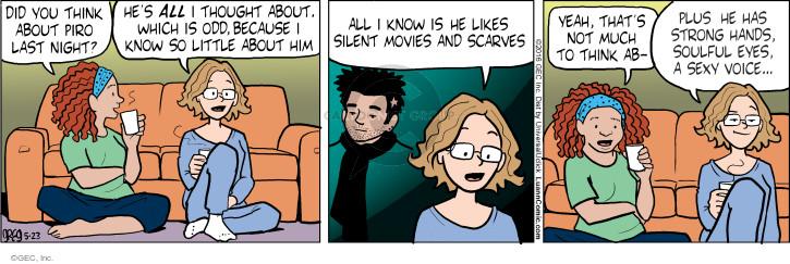 Comic Strip Greg Evans  Luann 2016-05-23 voice