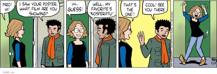 Comic Strip Greg Evans  Luann 2016-05-27 movie