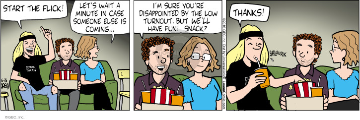 Comic Strip Greg Evans  Luann 2016-06-03 expecting