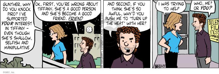 Cartoonist Greg Evans  Luann 2016-06-09 first date