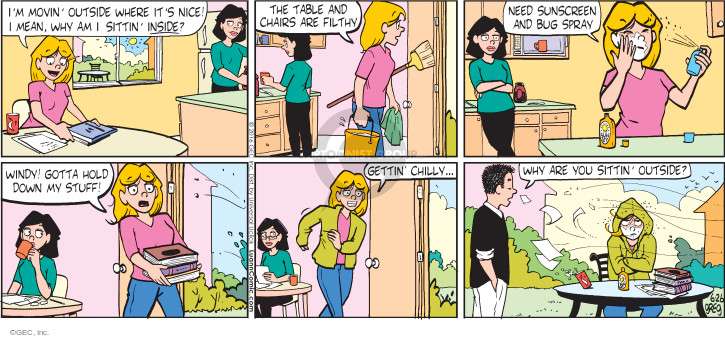 Comic Strip Greg Evans  Luann 2016-06-26 breeze