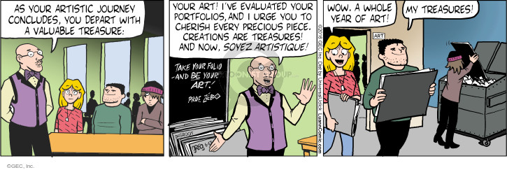 Comic Strip Greg Evans  Luann 2016-06-13 student