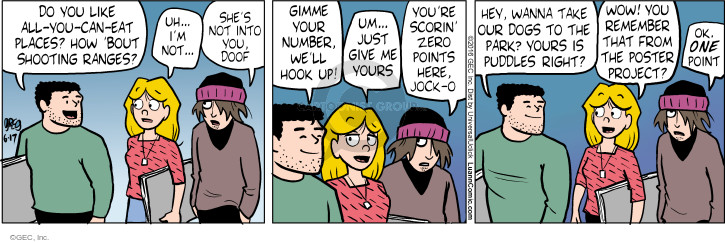 Comic Strip Greg Evans  Luann 2016-06-17 give up