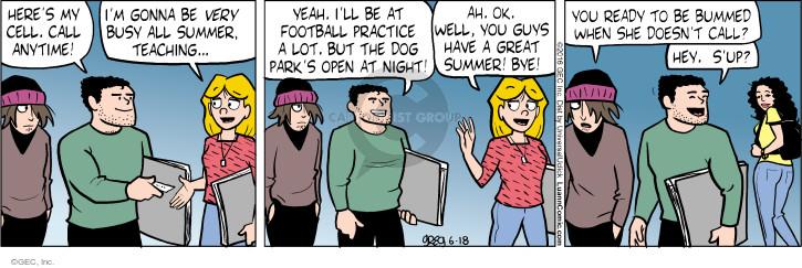 Comic Strip Greg Evans  Luann 2016-06-18 male