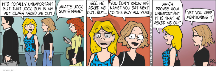 Comic Strip Greg Evans  Luann 2016-06-21 attraction