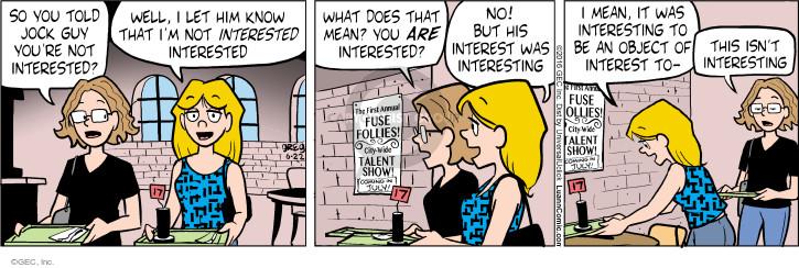 Cartoonist Greg Evans  Luann 2016-06-22 first date