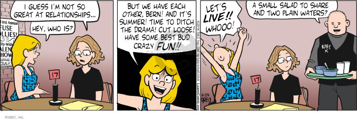 Comic Strip Greg Evans  Luann 2016-06-24 water