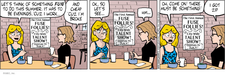 Comic Strip Greg Evans  Luann 2016-06-25 activity