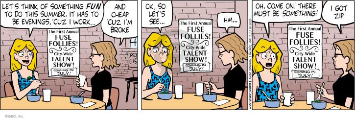 Comic Strip Greg Evans  Luann 2016-06-25 summer