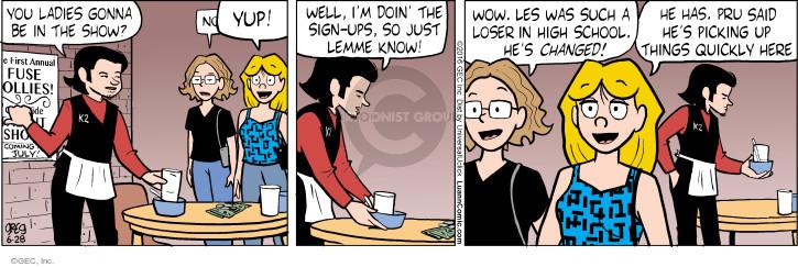 Comic Strip Greg Evans  Luann 2016-06-28 school