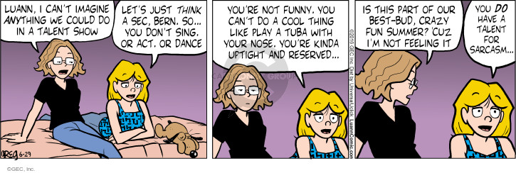 Comic Strip Greg Evans  Luann 2016-06-29 affinity