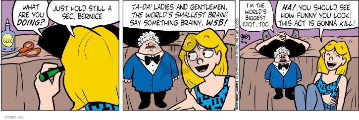 Comic Strip Greg Evans  Luann 2016-07-05 idiot