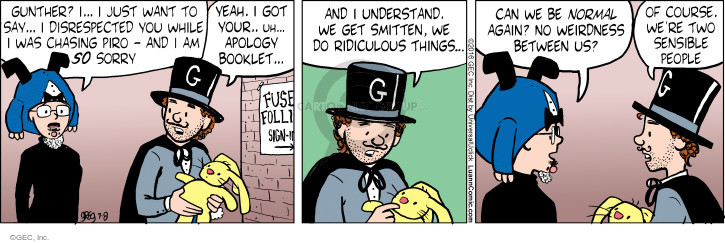 Comic Strip Greg Evans  Luann 2016-07-08 weird