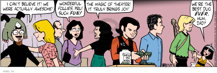 Comic Strip Greg Evans  Luann 2016-07-29 donation