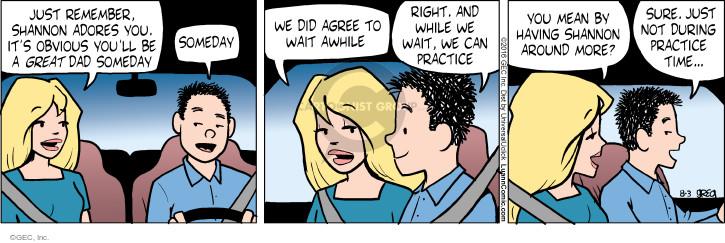 Comic Strip Greg Evans  Luann 2016-08-03 parenthood