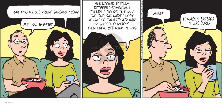 Comic Strip Greg Evans  Luann 2016-08-21 age