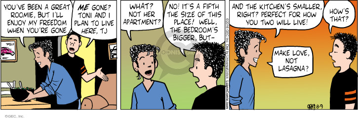 Comic Strip Greg Evans  Luann 2016-08-09 fifth amendment