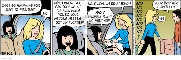 Comic Strip Greg Evans  Luann 2016-08-22 babysitter