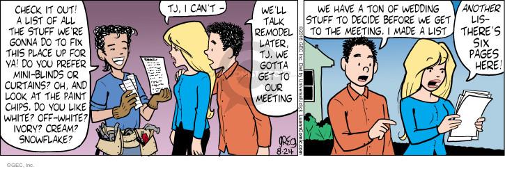 Comic Strip Greg Evans  Luann 2016-08-24 stressful