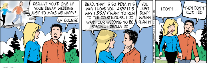Comic Strip Greg Evans  Luann 2016-09-03 give up