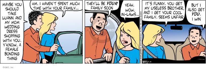 Cartoonist Greg Evans  Luann 2016-09-07 female