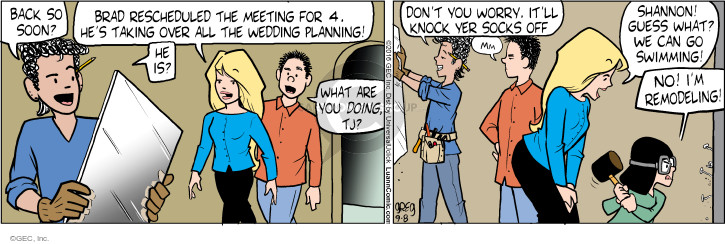 Cartoonist Greg Evans  Luann 2016-09-08 worry