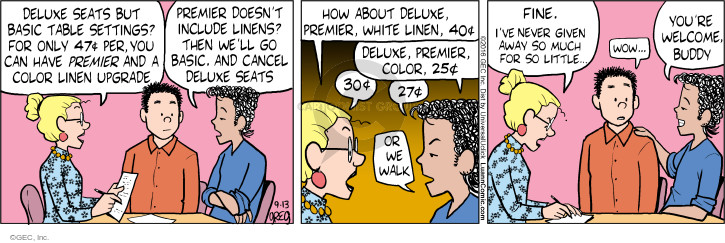 Comic Strip Greg Evans  Luann 2016-09-13 planner