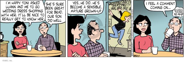 Comic Strip Greg Evans  Luann 2016-09-17 Brad