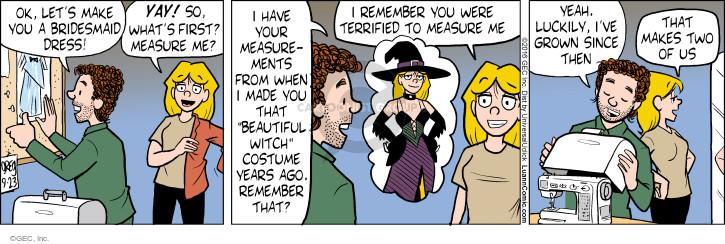 Comic Strip Greg Evans  Luann 2016-09-23 design