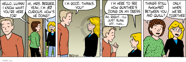 Comic Strip Greg Evans  Luann 2016-09-27 know