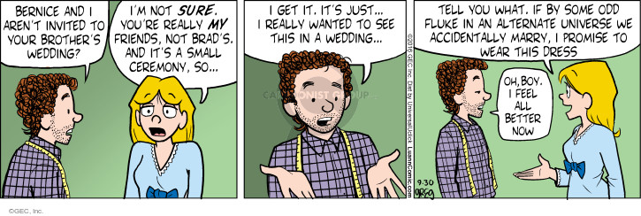 Comic Strip Greg Evans  Luann 2016-09-30 wedding ceremony
