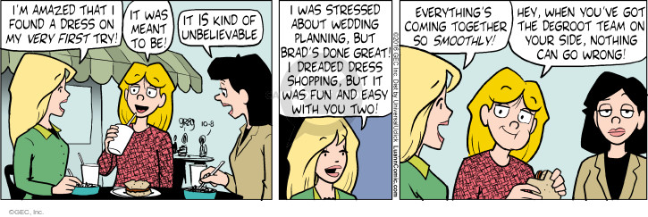 Comic Strip Greg Evans  Luann 2016-10-08 shop